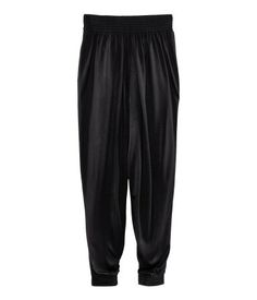 H comfy harem pants! black, M, $17.99. just bought these and they are divine!
