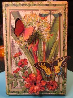 Graphic 45 Flutter Decorative Chipboard Embellishments ~ Butterfly Butterflies