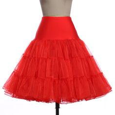 Faldas de tul moda de alta cintura plisada falda del tutú retro vintage enagua de la crinolina enagua faldas falda de las mujeres del verano