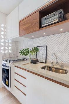 trend we love geometric falling block tile k chenfliesen geometrische muster und muster. Black Bedroom Furniture Sets. Home Design Ideas
