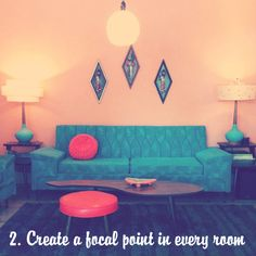 Hello lovelies! Today we are going to share a few of our essential decorating tips to help you create your dream retro space! Our homes h...