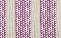 Carolina Irving Textiles  Aegean - Plum/Saffron