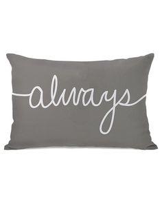 One Bella Casa 'Always' Decoraitve Pillow