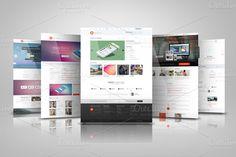 Check out Web Presentation Mock Ups by RgraphicsDesign on Creative Market | Website presentatie