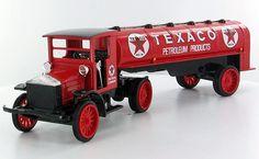 Texaco #16 from 1999 - 1920 Pierce-Arrow Semi-truck Tanker // Really Collectible!