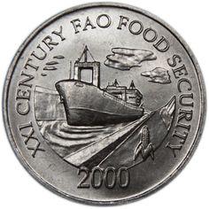 1 Centesimo #Panama -2000 Celebra il 21° congrasso della FAO, organisazione del'america che combate la fame nel mondo.