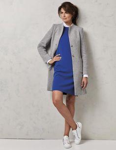 Purdey Mode | Purdey jurk kobalt