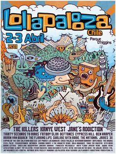 Lollapalooza 2011 Chile