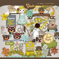 yayeah Goldilocks Element Pack by Ya Yeah Designs