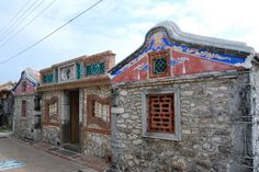 Traditional houses in Penghu, Taiwan. (Central Affairs Bureau, Penghu County)