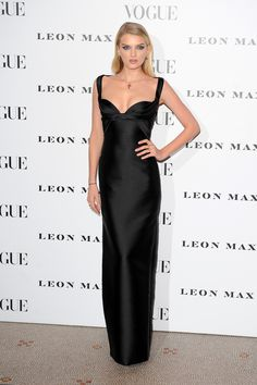Lily Donaldson in DSquared2 at the Vogue 100: A Century of Style Event in London.