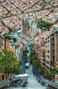 Barcelona Spain meets Inception - Architecture and Urban Living - Modern and Historical Buildings - City Planning - Travel Photography Destinations - Amazing Beautiful Places Places Around The World, Travel Around The World, Beautiful Places In The World, Amazing Places, Beautiful Words, Beautiful Things, Beautiful Pictures, Places To Travel, Places To See