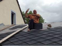 Making the roof of the cordwood building Louvre, Building, Wall, Travel, Viajes, Buildings, Traveling, Walls, Trips