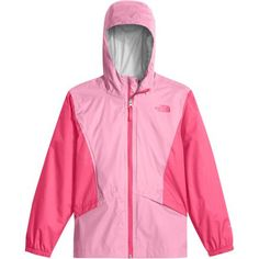 It's hard to keep your little puddle jumper inside when the rain starts to fall. Good thing she's got The North Face Girlss' Zipline Rain Jacket. Made with a two-layer DryVent construction, this jacket shields her from moisture whether she's stomping through puddles in the front yard or hiking around the lake in drizzly weather on the family camping trip.