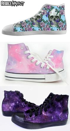 Shop pastel goth sneakers at RebelsMarket!