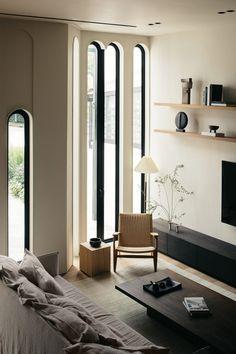 Living Room Inspiration, Interior Design Inspiration, Home Interior Design, Interior And Exterior, Interior Decorating, Timber Window Frames, Life Design, House Design, Saint Ouen