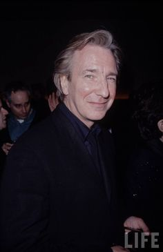 Alan Rickman. Anyone who looks at this guy and doesn't see a leading man doesn't know their head from a hole in the wall. And....that Voice. omg.