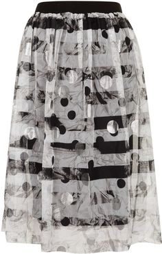 #Topshop                  #Skirt                    #Silver #Tulle #Midi #Skirt #Topshop                Silver Tulle Midi Skirt - Topshop USA                                         http://www.seapai.com/product.aspx?PID=367592