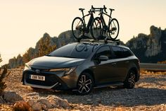 "Toyota Corolla : le prix de la version Trek Toyota announces the prices of the new Corolla in its ""Trek"" fighter version, only offered on the Touring Sports station wagon. Toyota Corolla, New Corolla, Honda Civic Si, Mitsubishi Lancer Evolution, Nissan Silvia, Honda S2000, Nissan 350z, Ae86, Nissan Skyline"