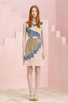 Tory Burch Spring Summer 2015 set fabrication by Creative Engineering #MadebyCreativeNYC #Setbuilding