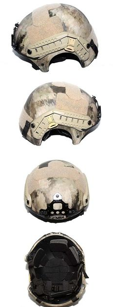 Clothing and Protective Gear 159044: Airsoft Ibh Helmet 5Mm Thickness With Nvg Mount And Side Rail Color Atacs Au -> BUY IT NOW ONLY: $60 on eBay!