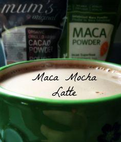 Maca Mocha Latte - Katherine Rene