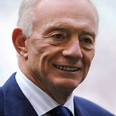 Jerry Jones, owner of the Dallas Cowboys, from North Little Rock, Arkansas