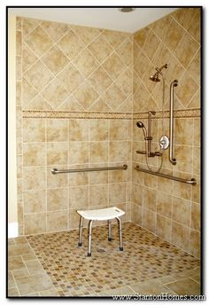 Accessible Bathrooms - Raleigh NC Accessible Homes - Universal Design Home Builders