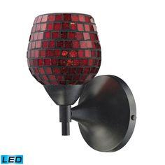ELK Lighting 10150/1DR-CPR-LED Celina Collection Polished Chrome Finish