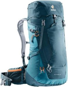 Deuter Rucksack Futura Größe 26 in Blau DeuterDeuter For the out of doors hobby Camping Gear, Camping Hacks, Marken Outlet, Seamless Transition, Backpack Reviews, Rain Gear, Backpack Online, Day Hike, Hiking