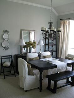 Im inspired by this for my dinning room!