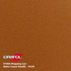 PMS 154C Available at https://www.fellers.com/orafol/cat/orafol-colored-patterned-wrap-vinyls/sub/metallic-flake-wrap-vinyl/set/oracal-970ra-metallic-with-rapid-air-air-egress