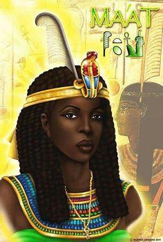 black egyptian queen art - Google Search
