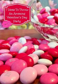 Throw an amazing Valentine�s Day Party for teens! Your whole squad is going to love. these ideas that are a mix of sparkle and sweet!