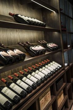 Navigating a Wine Shop- Navigating a Wine Shop Residential Property Development – Leconfield Property Group - Wine Cellar Design, Wine Design, Wine Shelves, Wine Storage, Crate Shelving, Cave A Vin Design, Cellar Inspiration, Wine Cellar Basement, Home Wine Cellars