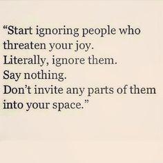 ignore them #quotes