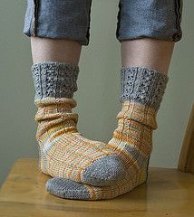 Ravelry: Goldberry's Socks pattern by Virginia Sattler-Reimer