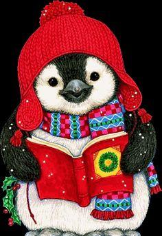 Oh my Alfabetos!: Tierno alfabeto Navideño de pingüinitos cantando villancicos.