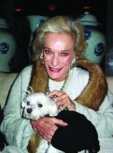 Lucky braved the snow and ice and enjoyed an evening at the posh VBH boutique on Madison avenue rubbing shoulders with  Nan Kempner.