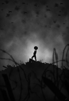 The Mysterious Noir Superhero Series Art