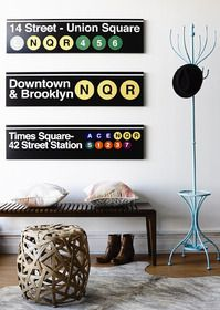Bring a little Brooklyn city charm to your home from Vavoom Emporium