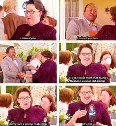 The Office Finale...I seriously teared up on this scene.