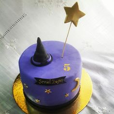 Witch birthday cake