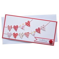 Handmade Valentines Card £1.90