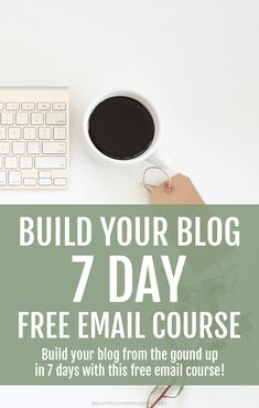 I'm happy to announce the launch of my free email course Build Your Blog in 7 Days. This course is for anyone who's been thinking about starting their own blog, and are ready to take the first steps. I started blogging seriously in 2014 as a way to drive traffic to my website. Within one year of leveraging the power of blogging, my traffic and my income more than doubled! Now, it is my goal to help other bloggers do the same. Blogging has changed my life in so many ways, and I know it...