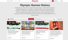McDonalds maakt gebruik van Pinterest om nogmaal in de verf te zetten dat zij partner zijn van de Olympische Spelen.   http://www.pinterest.com/mcdonalds/olympic-games-history/