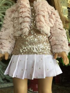 ideas sewing clothes jackets ag dolls for 2019 American Doll Clothes, Girl Doll Clothes, Doll Clothes Patterns, Clothing Patterns, Sewing Shirts, Sewing Clothes, Diy Bags No Sew, Simple Tunic, Ag Dolls