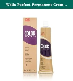 Wella Perfect Permanent Creme Gel Hair Color, 7rr Level 7 Pure Red, 2 Ounce. An excellent array of creme gel colors formulated to be completely interminable to create any shade desired with predictable natural looking results.