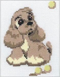 Cocker Spaniel - Cross Stitch Kit