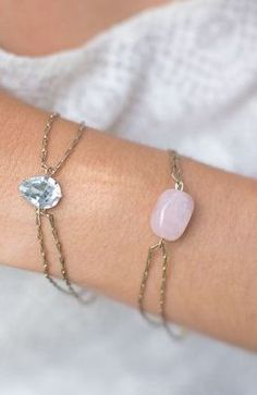 pretty DIY bracelets | #jewelry - do it yourself #diy